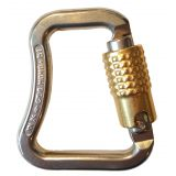 Steel karabiner twistlock