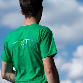 "T-Shirt ""Cloud"" MEN - Kelly Green"